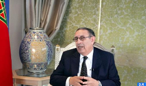 Amrani: «Le Maroc n'a eu de cesse de faire prévaloir le développement humain, social et économique»