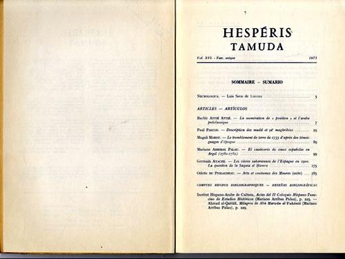 TAMUDA TÉLÉCHARGER HESPERIS