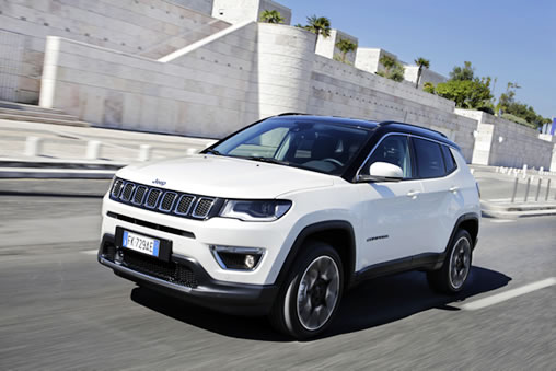 la nouvelle jeep compass obtient 5 toiles aux tests euroncap 2017 albayane. Black Bedroom Furniture Sets. Home Design Ideas